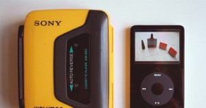 Walkman and iPod