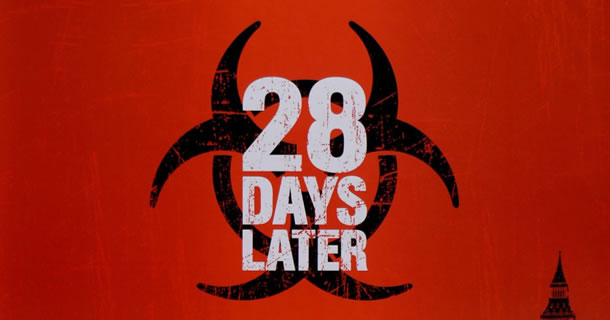 Poster for 28 Days Later from http://www.cinemasterpieces.com/cine_NUMBERS.htm