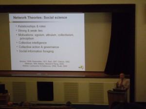 Ben Schneiderman opens HCI2010 in Dundee